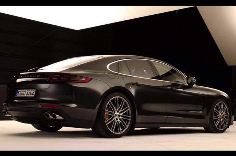 Porsche Panamera leaked images