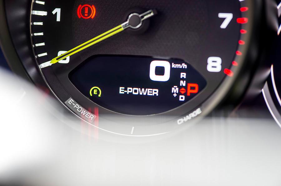 Porsche Panamera Sport Turismo information display