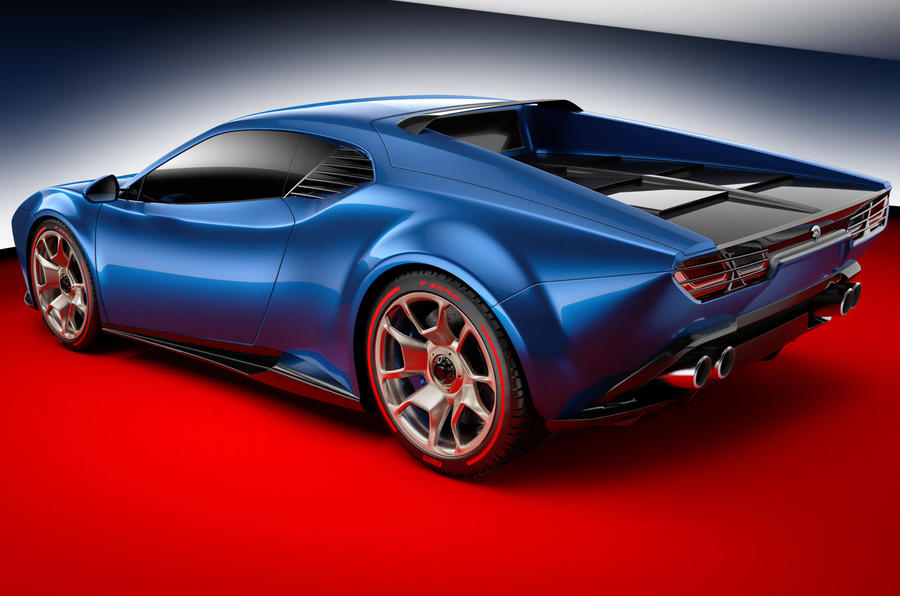 'Project Panther' is a new Italian supercar with a Lambo base