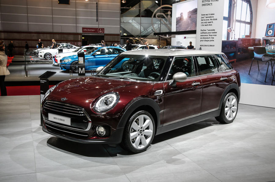 Mini Clubman at the Paris motor show 2016 - show report and gallery
