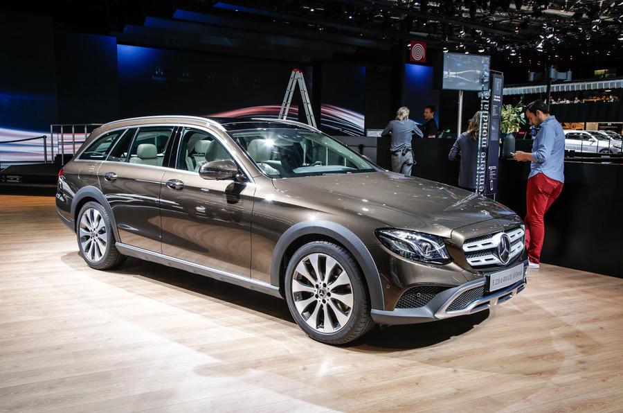 Mercedes E Class All Terrain Estate Revealed Autocar
