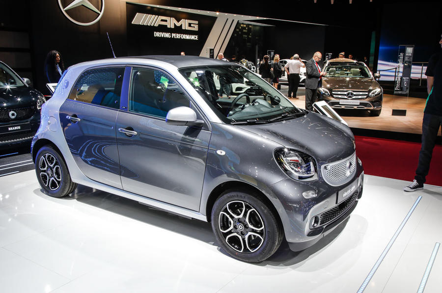 smart fortwo fortwo cabriolet and forfour electric drive revealed autocar. Black Bedroom Furniture Sets. Home Design Ideas