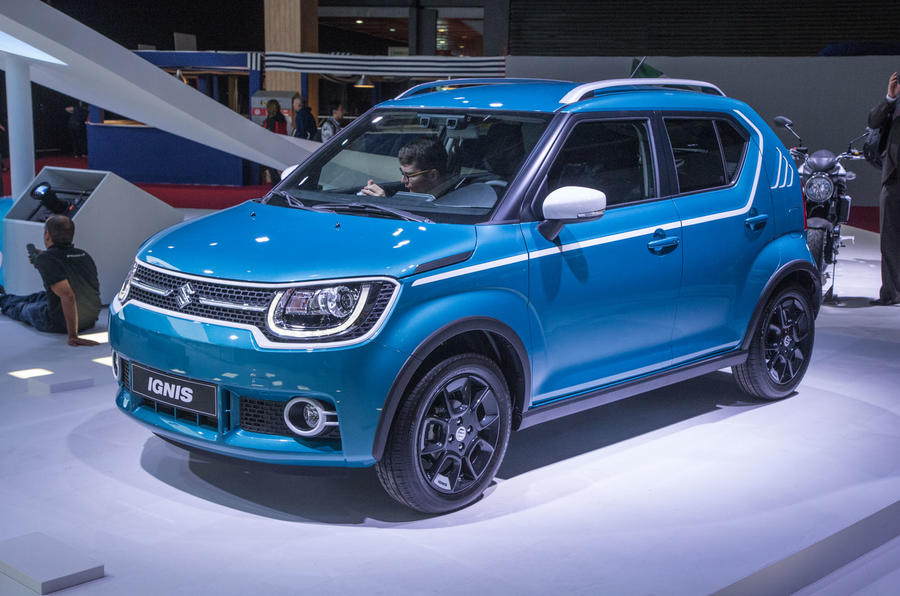2017 suzuki ignis on sale in january priced from 9999 autocar. Black Bedroom Furniture Sets. Home Design Ideas
