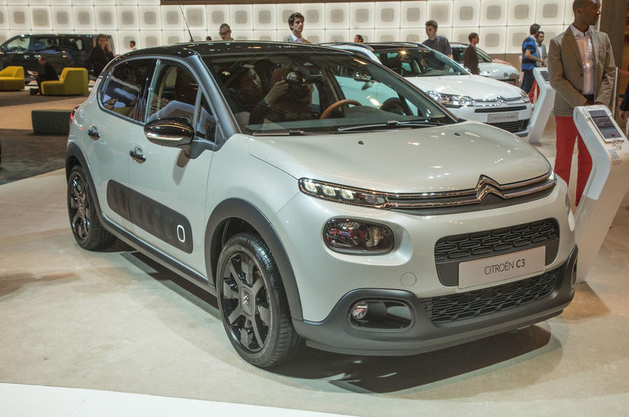 new citro n c3 supermini reflects c4 cactus styling autocar. Black Bedroom Furniture Sets. Home Design Ideas