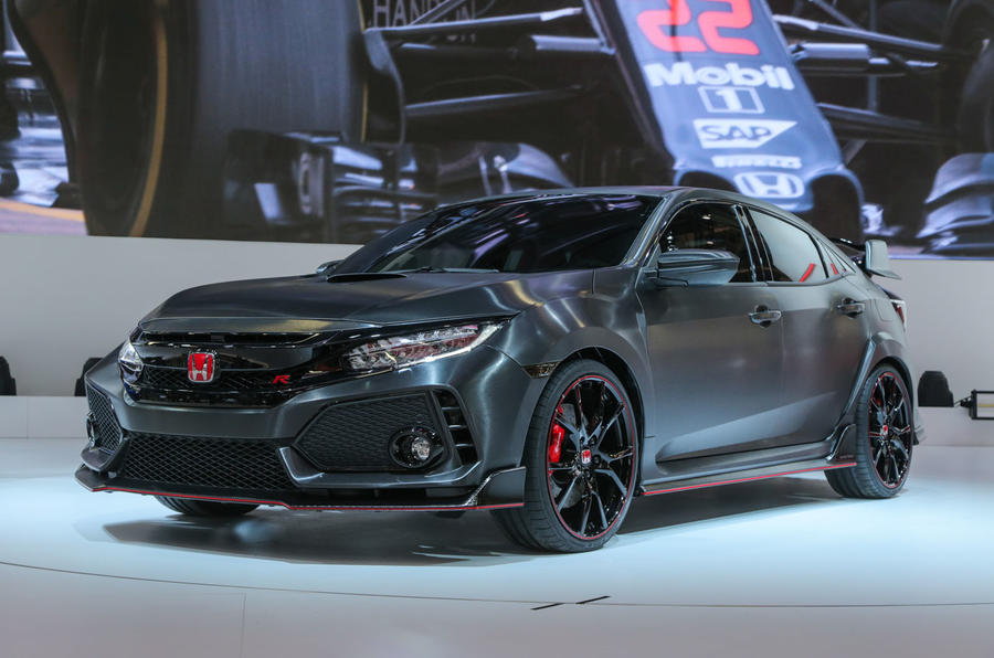 next honda civic type r in paris updated with video autocar. Black Bedroom Furniture Sets. Home Design Ideas