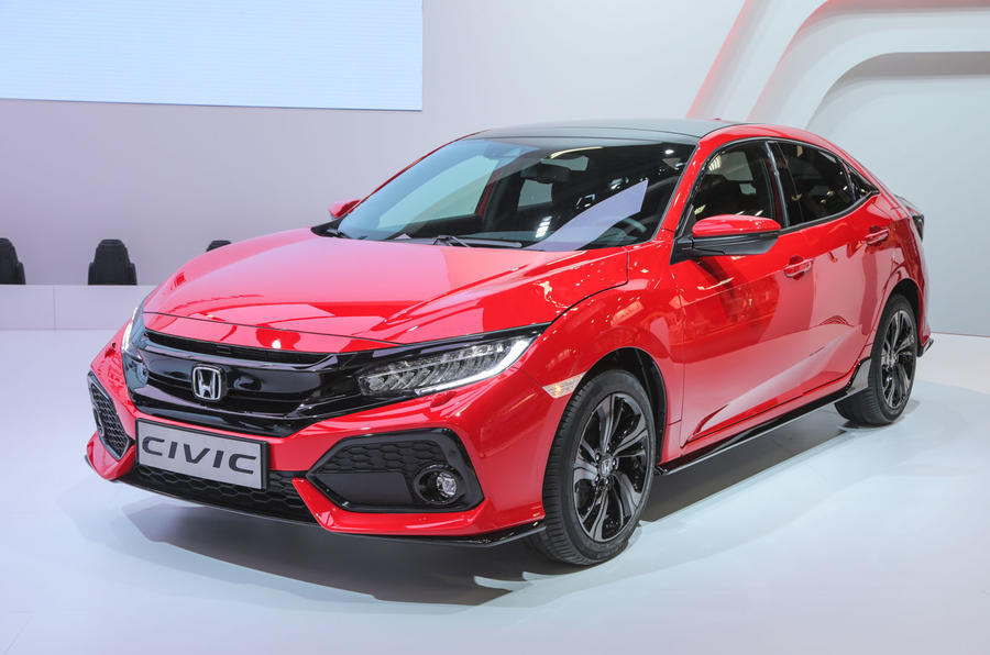 2017 honda civic on sale in march priced from 18 235 autocar. Black Bedroom Furniture Sets. Home Design Ideas
