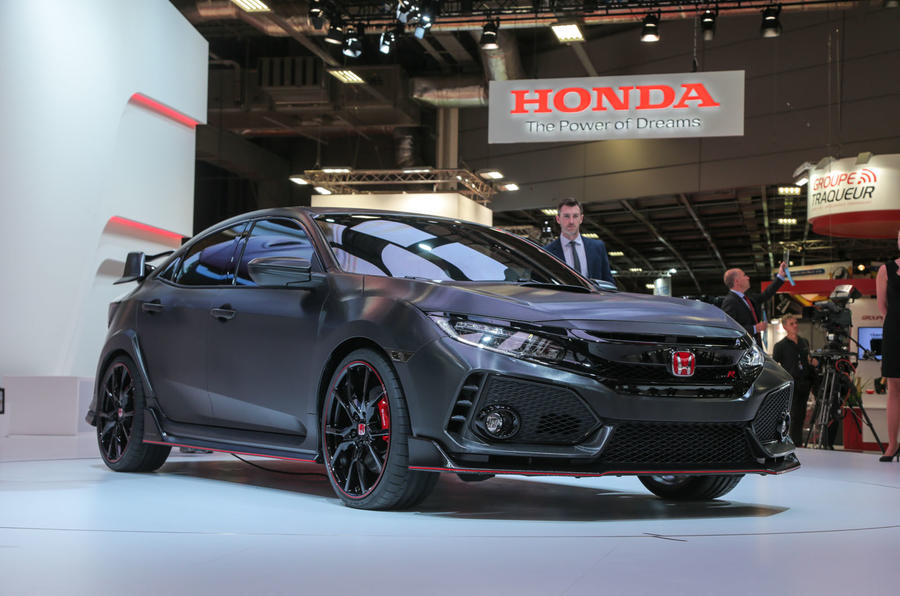 The next Type R hot hatchback will make its debut in production form ...