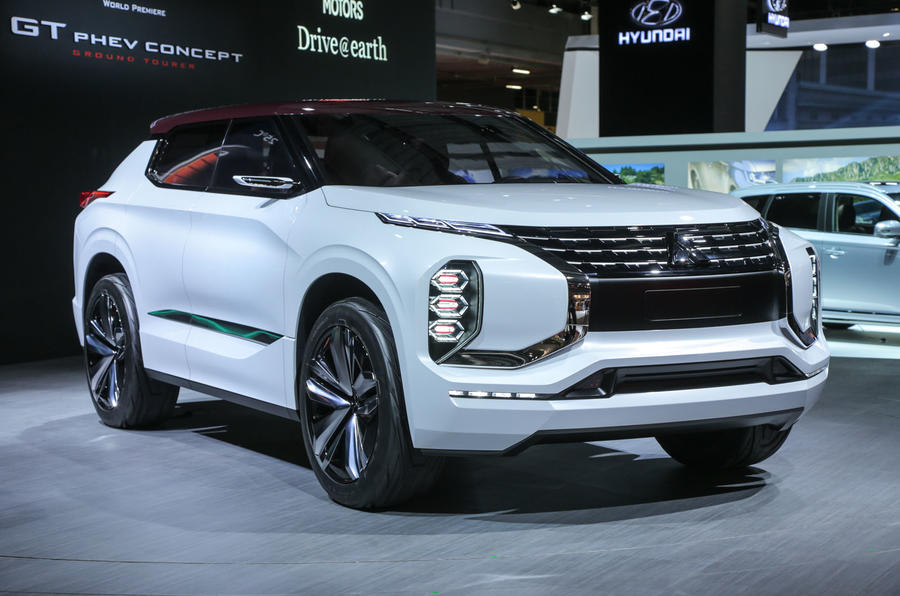 Fantastic Mitsubishi GT PHEV Concept Revealed  Autocar