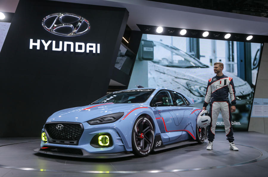 Hyundai RN30 concept at the Paris motor show 2016 - show report and gallery