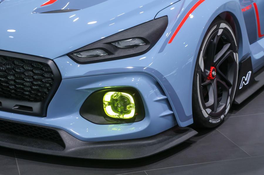 hyundai rn30 concept previews four wheel drive ford focus rs rival autocar. Black Bedroom Furniture Sets. Home Design Ideas