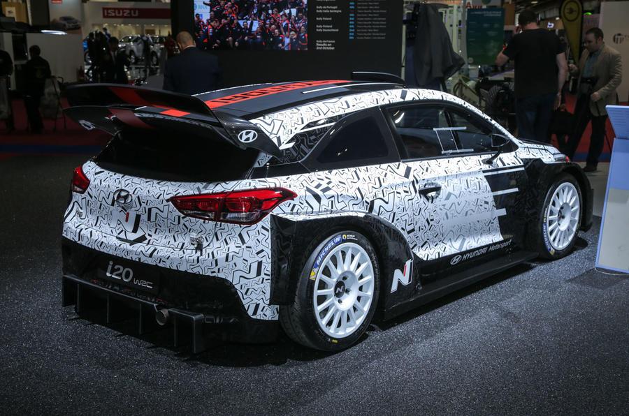 Excellent 2017 Hyundai I20 WRC Car Shown  Autocar