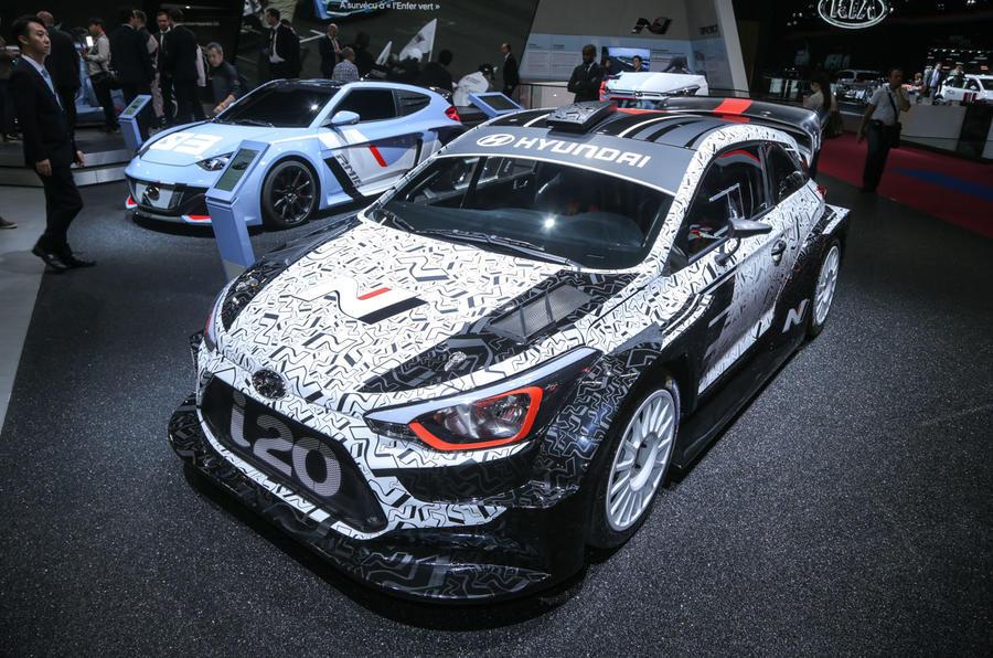 Amazing 2017 Hyundai I20 WRC Car Shown  Autocar