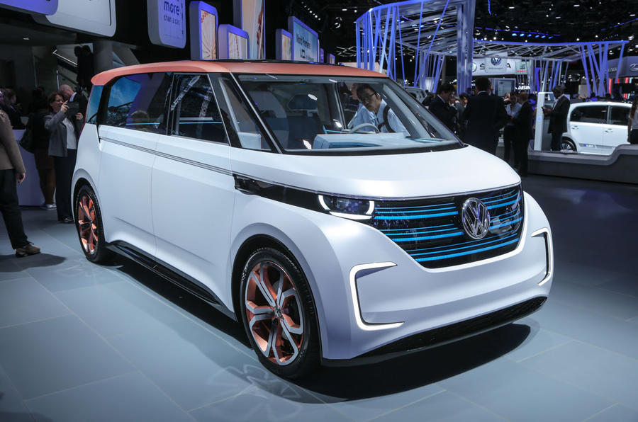 Volkswagen Budd-e concept at the Paris motor show 2016 - show report and gallery