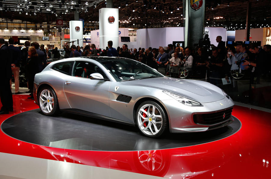 ferrari gtc4 lusso t revealed with 602bhp turbocharged v8 autocar. Black Bedroom Furniture Sets. Home Design Ideas