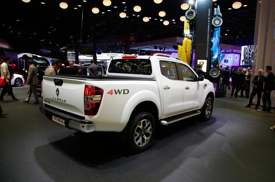 2016 Renault Alaskan Pick Up Shown In Paris Autocar