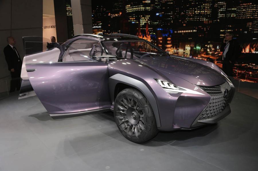 Lexus Ux Concept Revealed In Paris Autocar