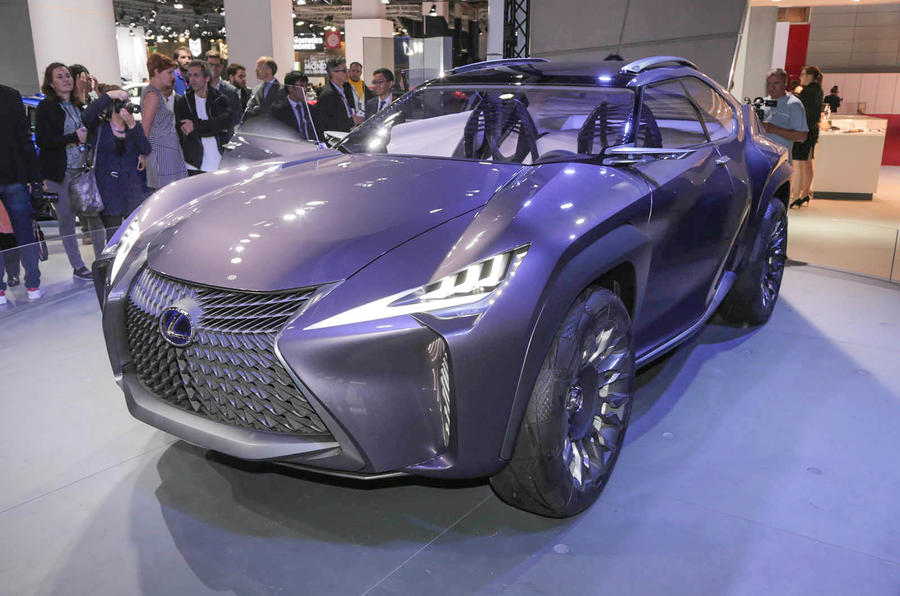 Lexus UX concept revealed in Paris | Autocar