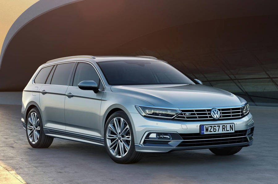 volkswagen passat 2018. volkswagen passat gets tech upgrade for 2018 w