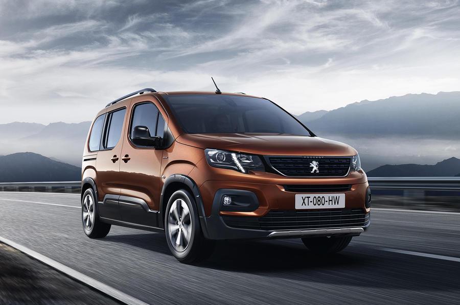 Peugeot Rifter revealed as Citroen Berlingo Multispace