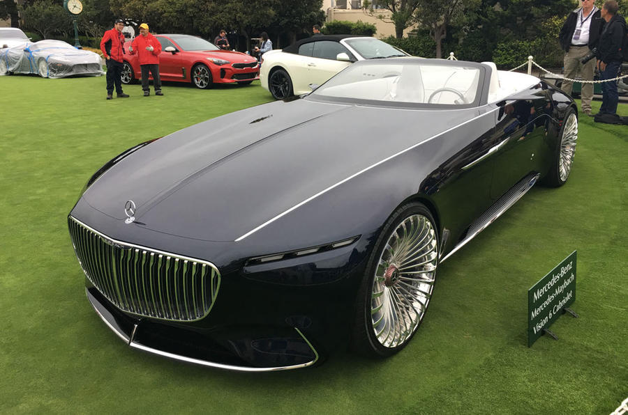Maybach Vision 6 Cabriolet