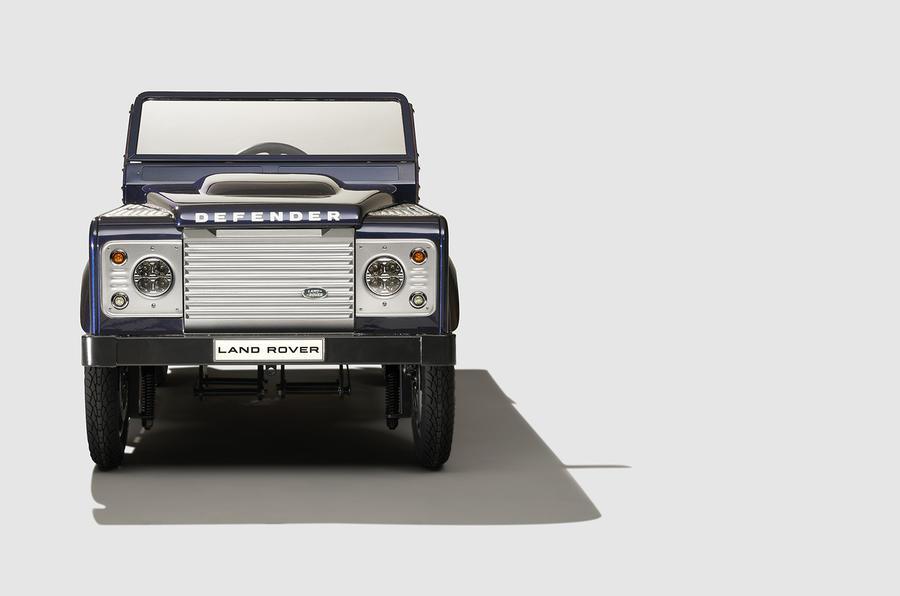 Land Rover Defender pedal car