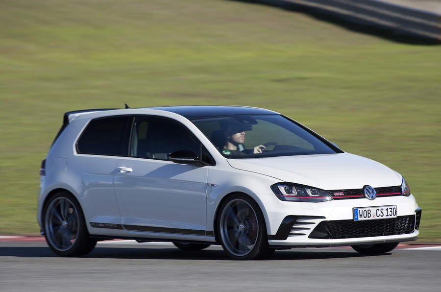 Autonomous VW Golf-based performance car can give track tuition
