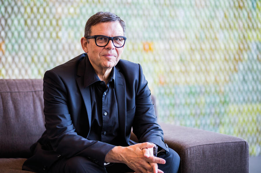 Meeting Peter Schreyer - the man behind Kia's tiger nose grille