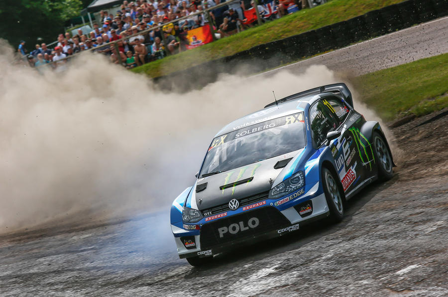 Petter Solberg Lydden Hill 2017