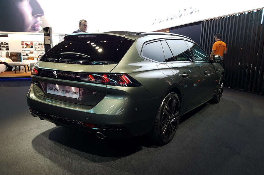 Peugeot 508 SW First Edition Paris reveal rear