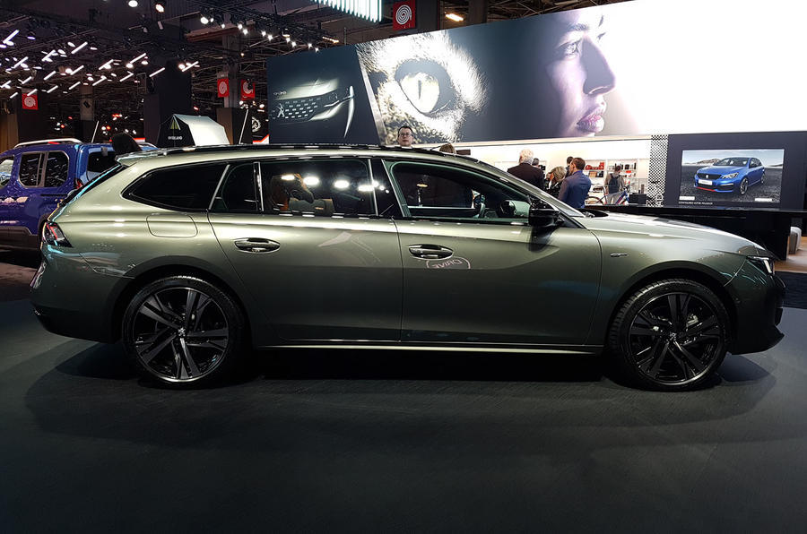 Peugeot 508 SW First Edition Paris reveal side