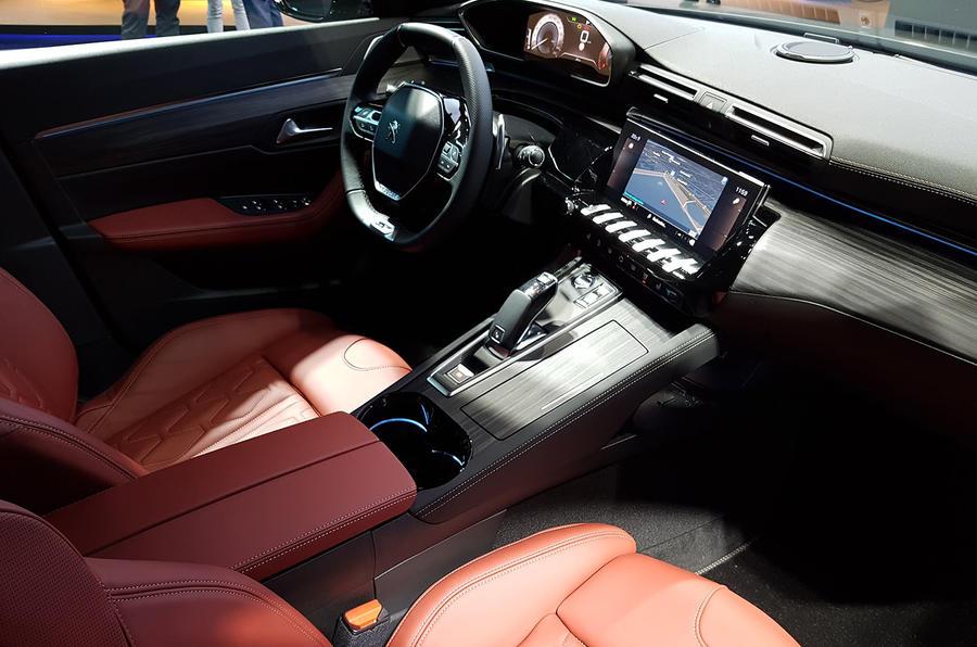 Peugeot 508 SW First Edition Paris reveal interior