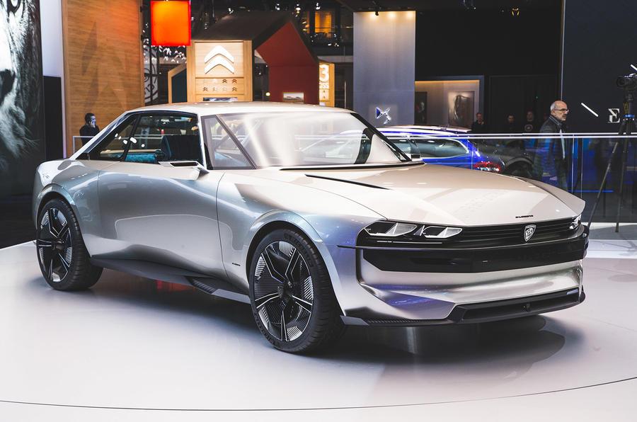 Peugeot e-Legend concept Paris 2018 Luc