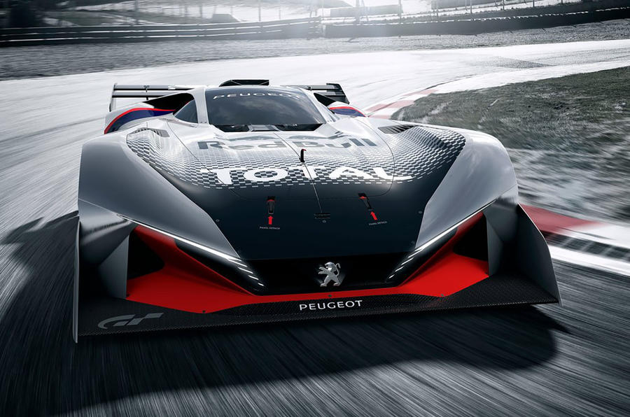 Peugeot L750 R hybrid Gran Turismo concept