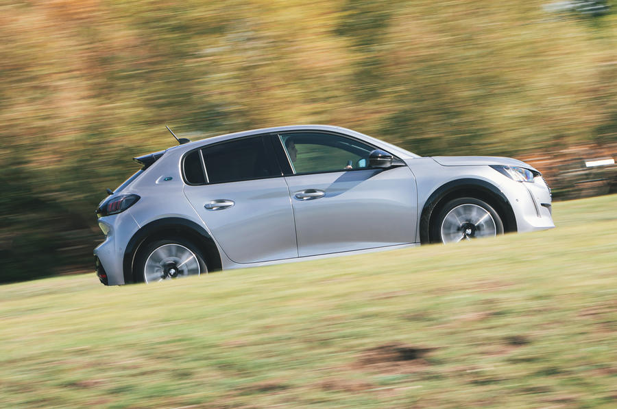 Britain's Best Car Awards 2020 - Peugeot e-208 - side