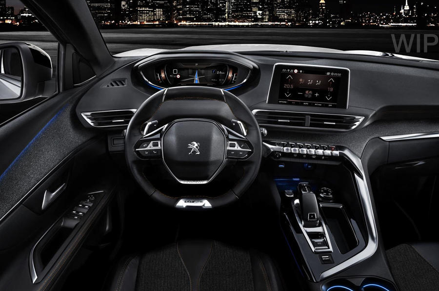 peugeot 3008 gt launched as crossover 39 s new range topper. Black Bedroom Furniture Sets. Home Design Ideas