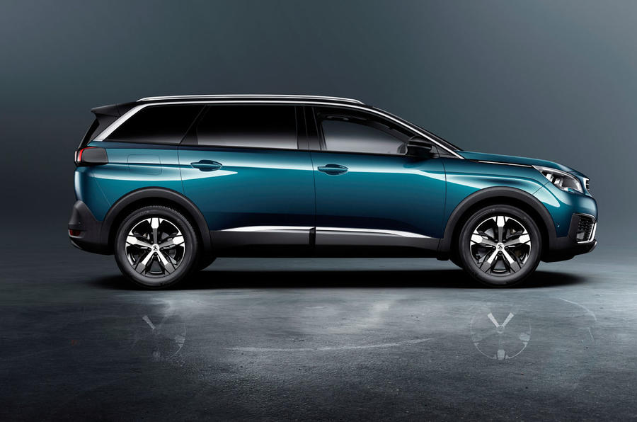 2017 Peugeot 5008 revealed with striking new look | Autocar