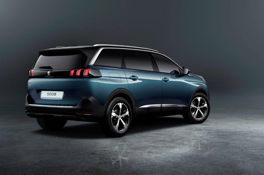 Peugeot unveils new 5008 SUV