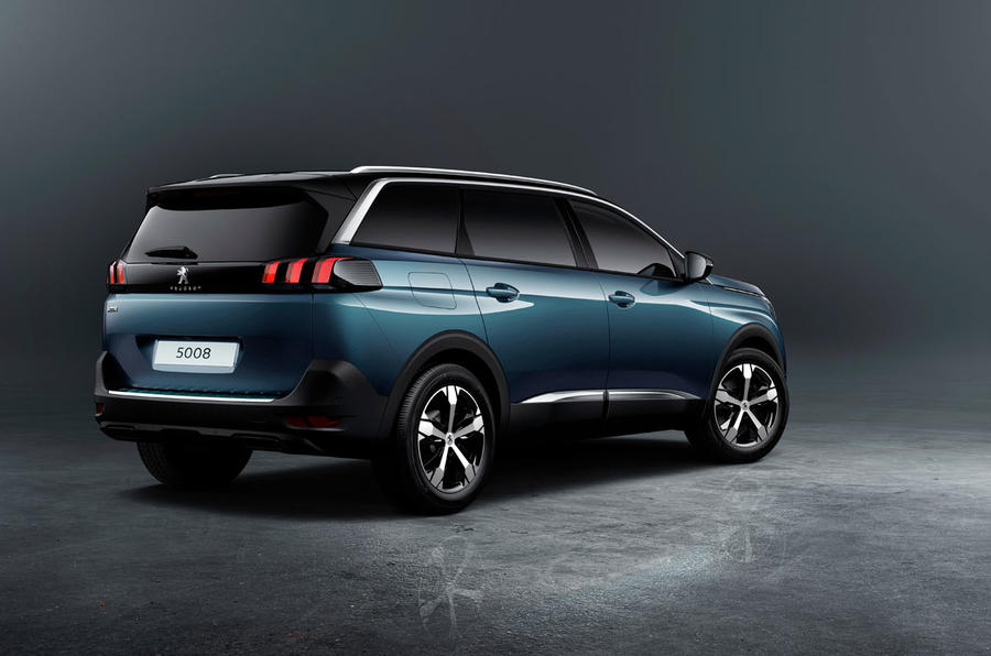unveiled 2017 peugeot 5008. Black Bedroom Furniture Sets. Home Design Ideas