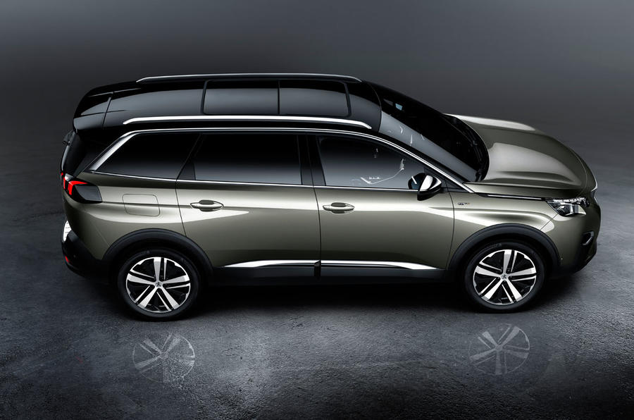 2017 peugeot 5008 revealed with striking new look autocar. Black Bedroom Furniture Sets. Home Design Ideas