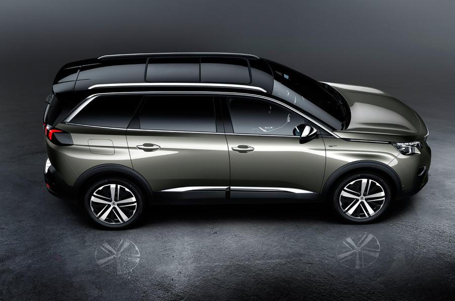 2017 peugeot 5008 revealed with striking new look autocar. Black Bedroom Furniture Sets. Home Design Ideas