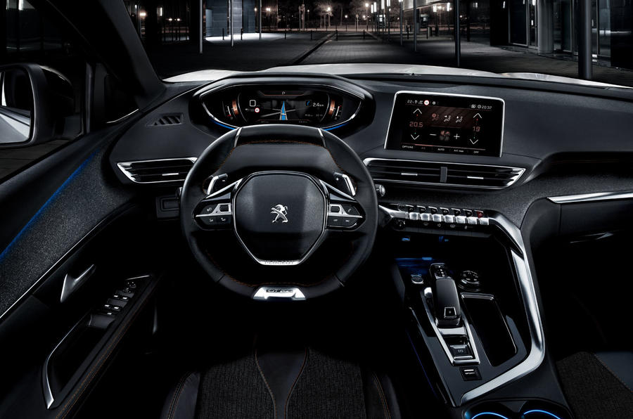 2017 Peugeot 5008 Revealed With Striking New Look Autocar