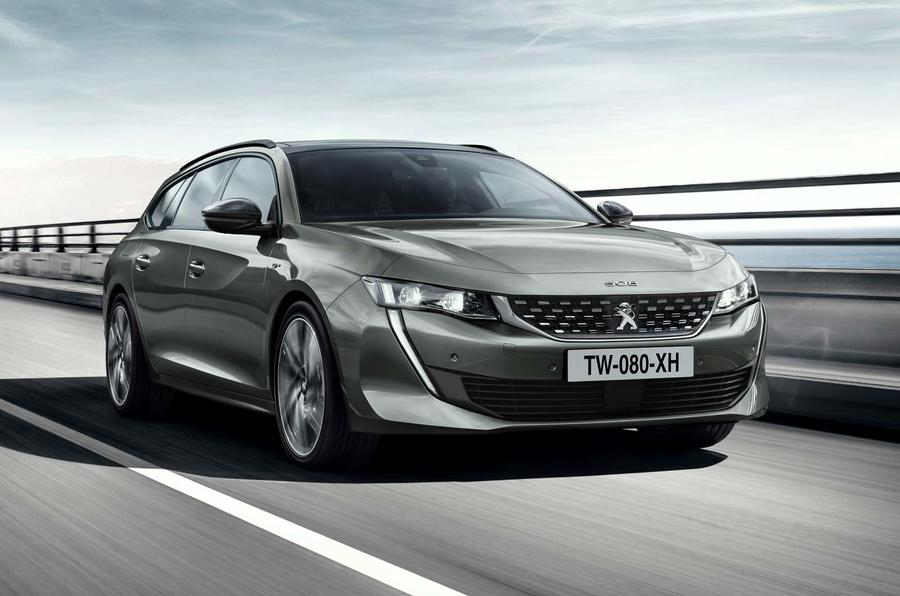 Peugeot 508 SW revealed with striking look and new ipit cabin ...
