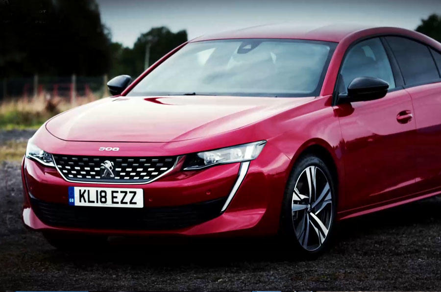 Promoted The All New Peugeot 508 Fastback Autocar