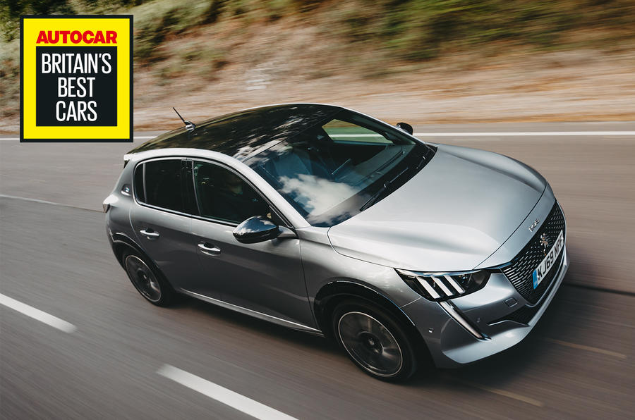 Britain's Best Car Awards 2020 - Peugeot e-208