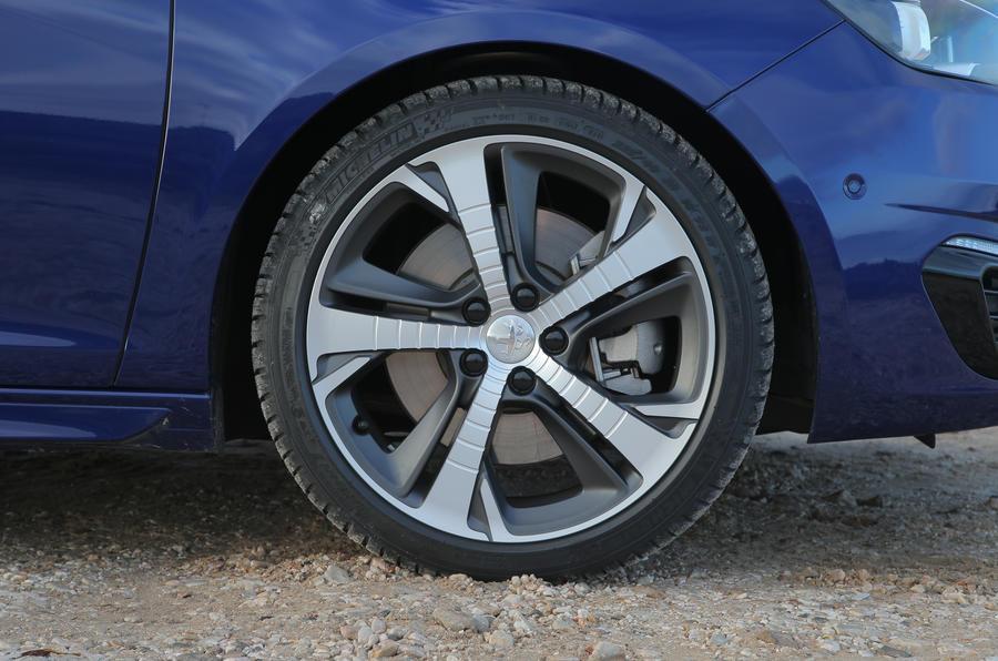 17in Peugeot 308 GT alloys