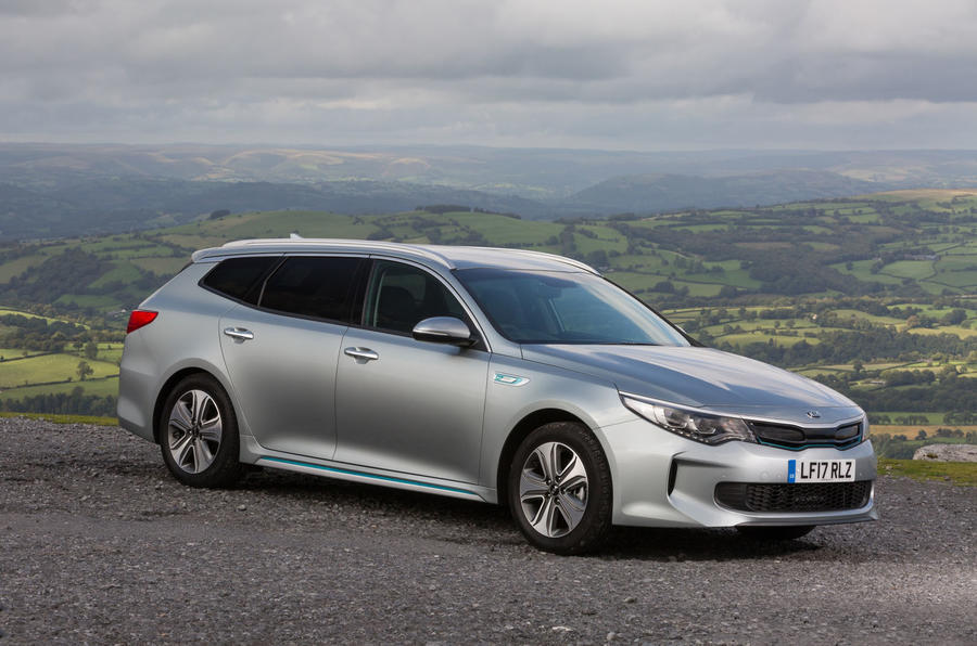 3.5 star Kia Optima PHEV