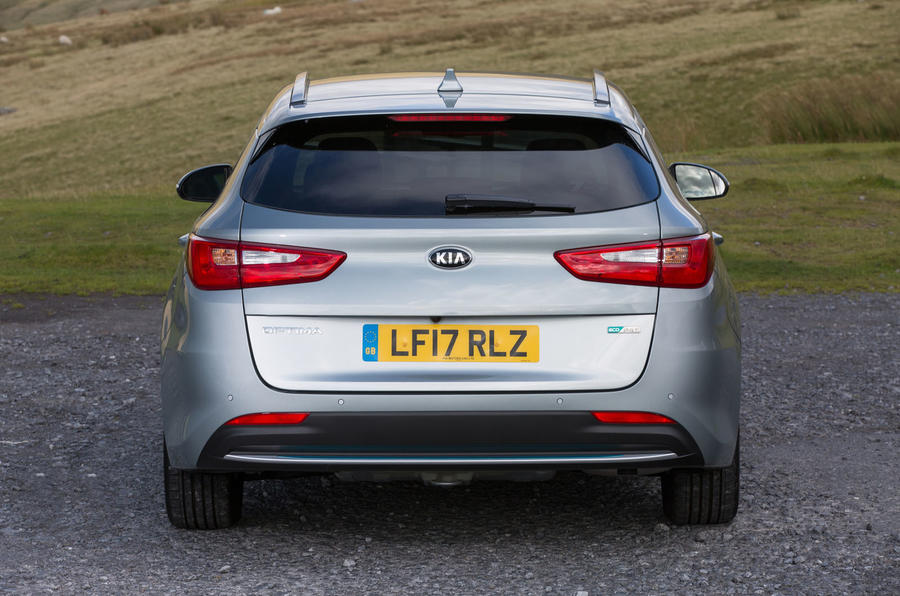 Kia Optima PHEV rear end