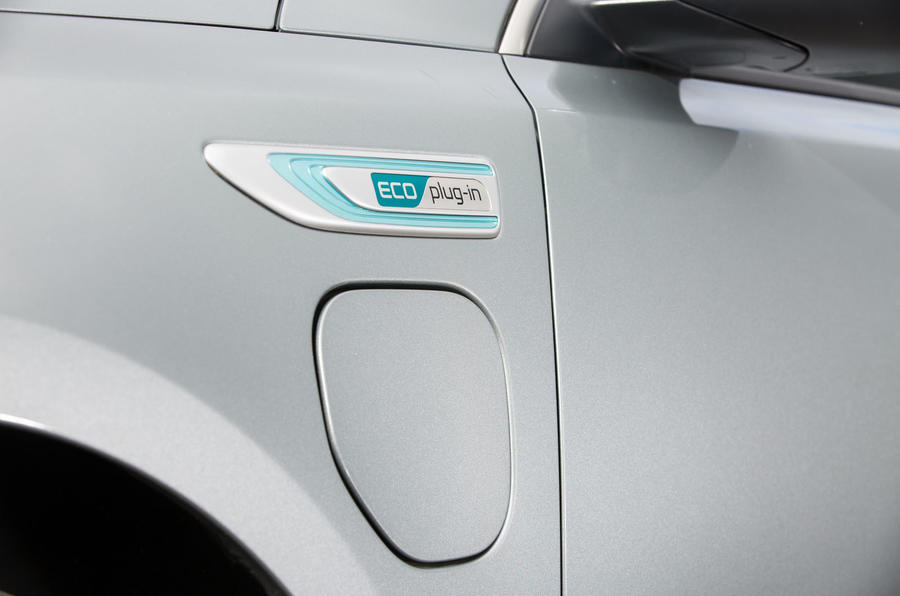 Kia Optima PHEV badging