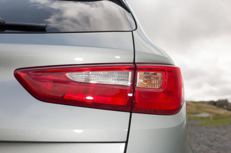 Kia Optima PHEV rear lights