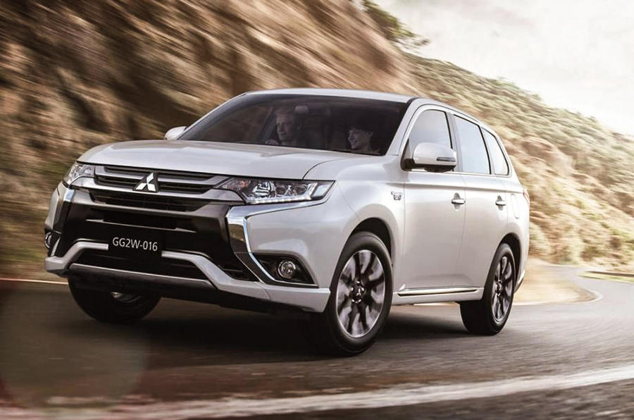 Facelifted Mitsubishi Outlander - latest pictures